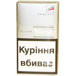 Сигарети West Bright Silver Compact+