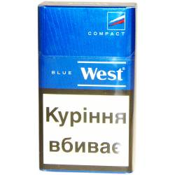 Сигарети West Deep Blue Compact+