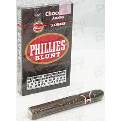 Сигари Phillies Blunt Chocolate пач 5шт